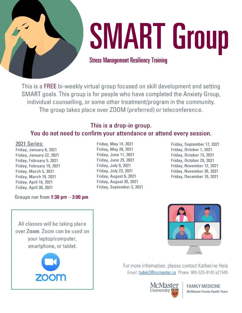 SMART group invite flyer