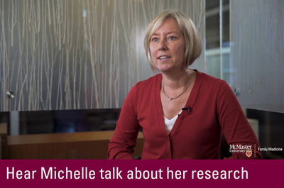 Click to hear Michelle talk about her research