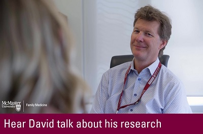 Click to hear David talk about his research