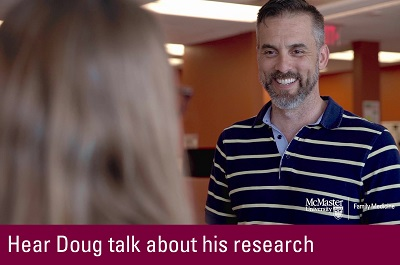 Click to hear Doug talk about his research
